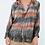 Thumbnail: Bluse Batik Grau