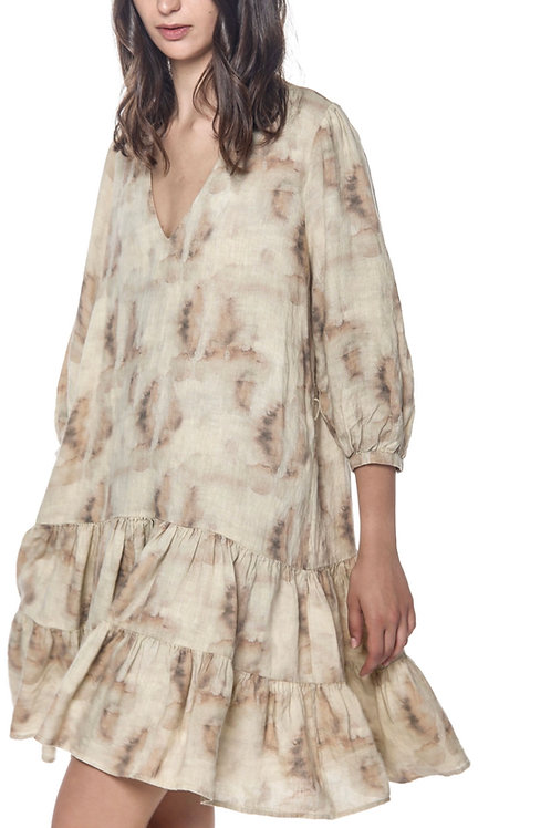 Kleid Batikmuster