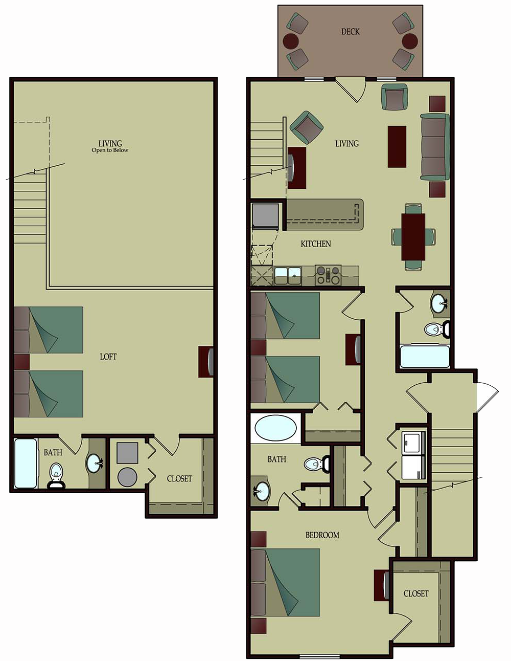 3 Bedroom Loft - Grand Palms Resort for your Myrtle Beach vacation
