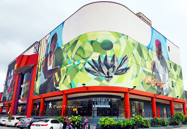 Komplexs Legenda with 3 murals