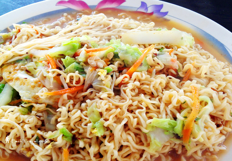 Fried Instant Noodle (炒泡面)