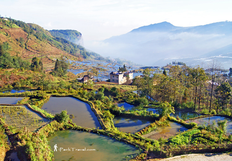 Morning view of Duoyishu from Pugaolao Village