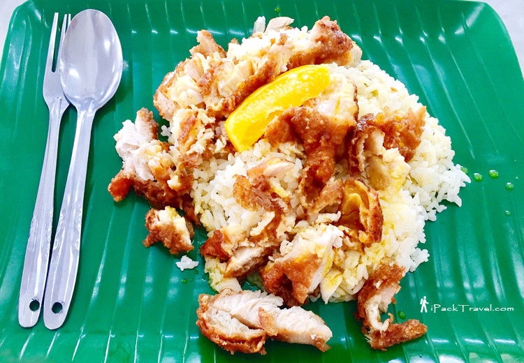 Orange chicken rice