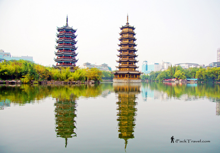 Riyue Shuangta, 日月双塔文化公园
