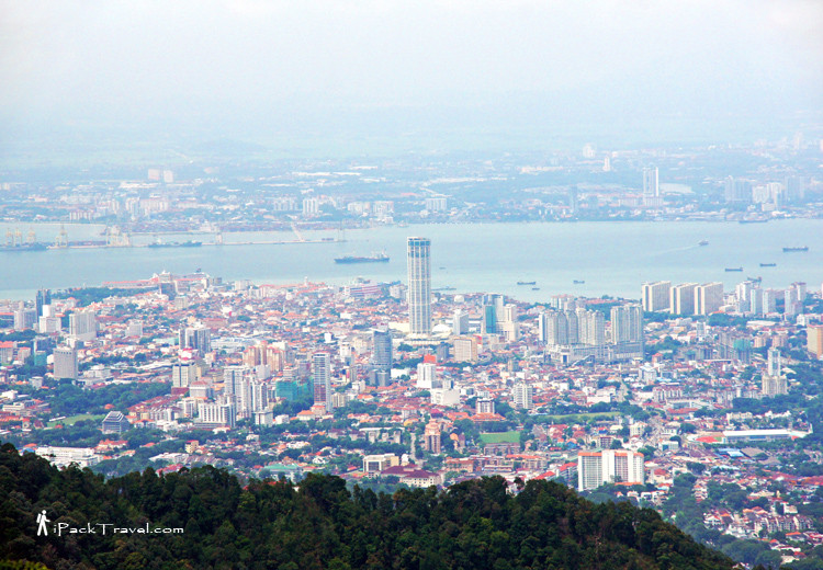 View of Georgetown from Penang Hill