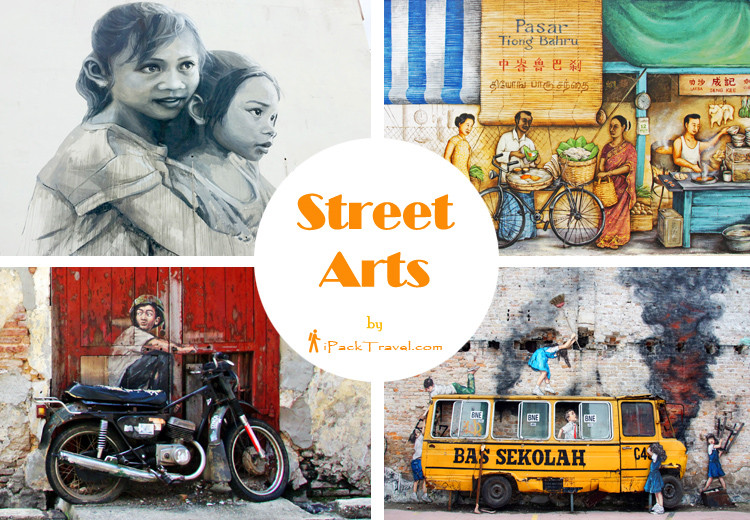 Street Arts from Singapore to Penang