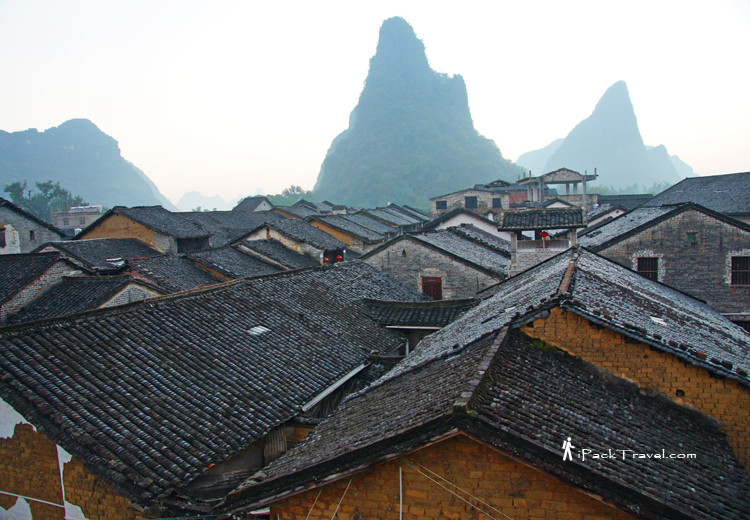 Huangyao town at dawn