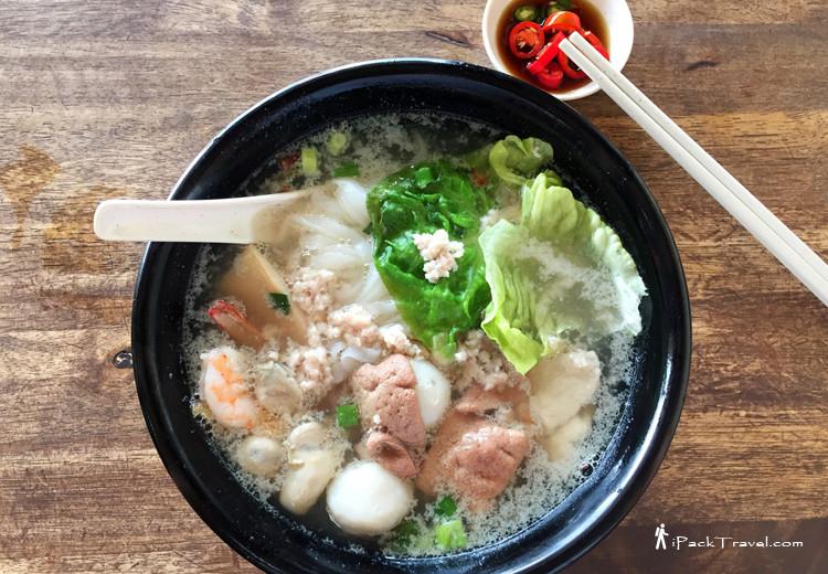 Yong He Kuey Teow Soup