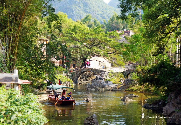 Scenery of Huangyao Ancient Town