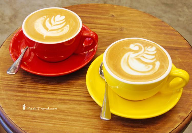 Gula Melaka Coffee & Curacao coffee