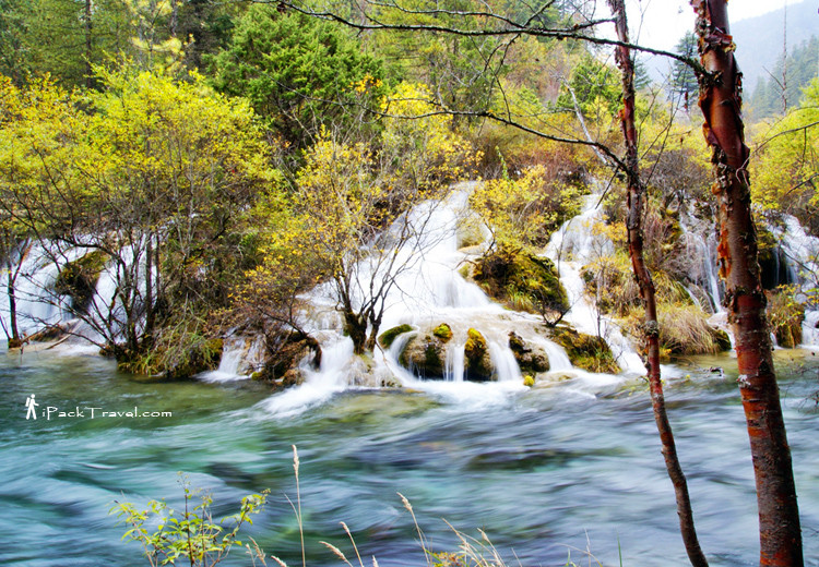 Pearl Shoals Waterfall