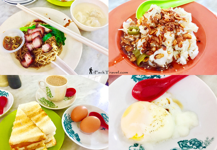 Breakfasts in Sin Yoon Loong