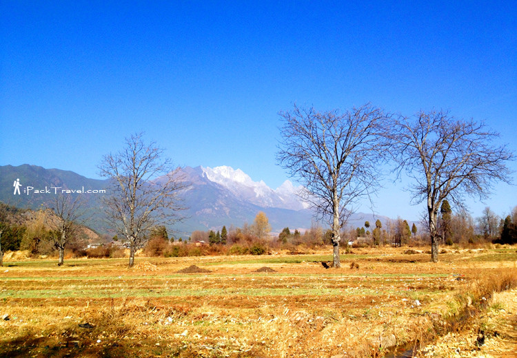 Scenery along the way to Baisah Ancient Town