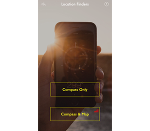 iPackTravel Compass Mode options