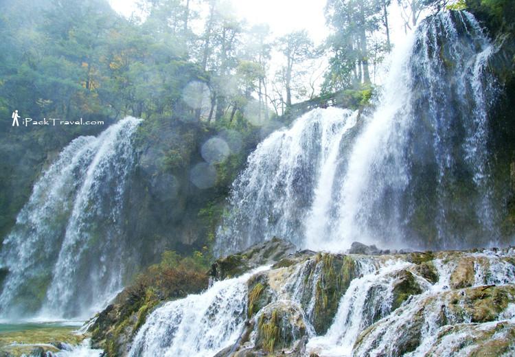 Panda Lake Waterfall