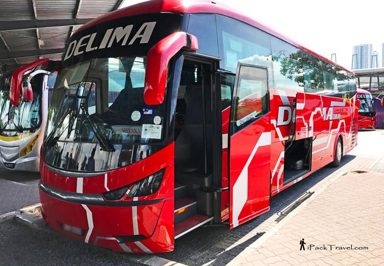 Malacca to TBS (Kuala Lumpur) by Bus