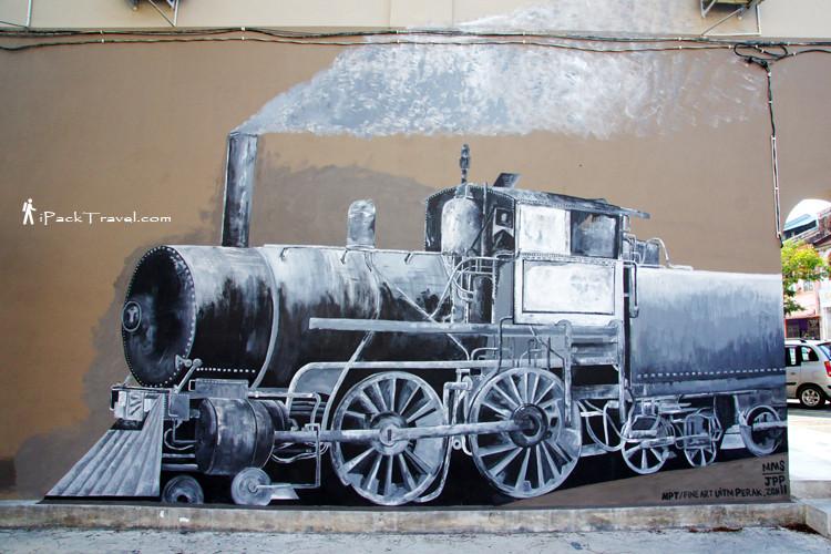 Head of a locomotive