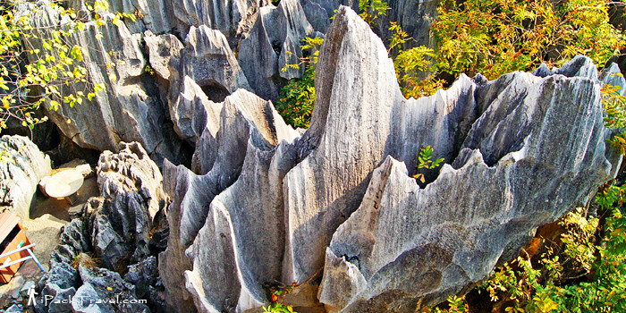 Shilin Stone Forest in Kunming, Yunnan