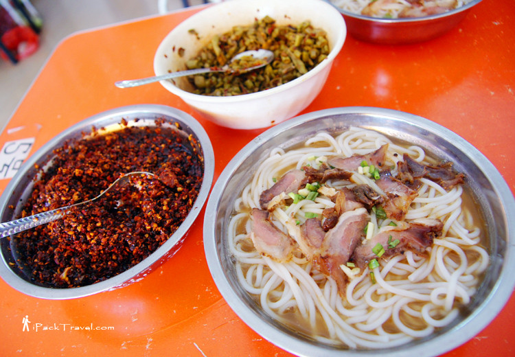 Horse meat vermicelli (马肉米粉)