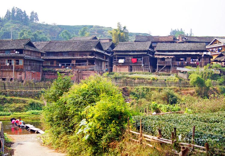 Village scene in Chengyang