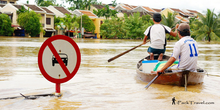 Flood town in Hoi An