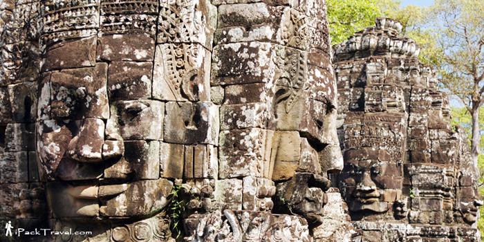 Bayon in Angkor Kingdom