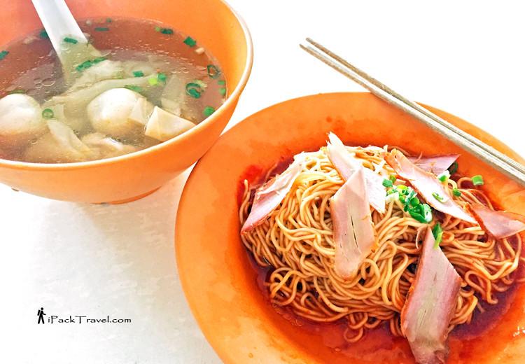 Pontian wantan noodle