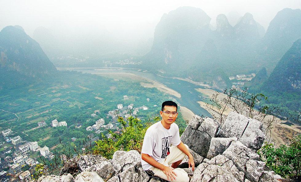Rick Ng. Travel in Guilin, China