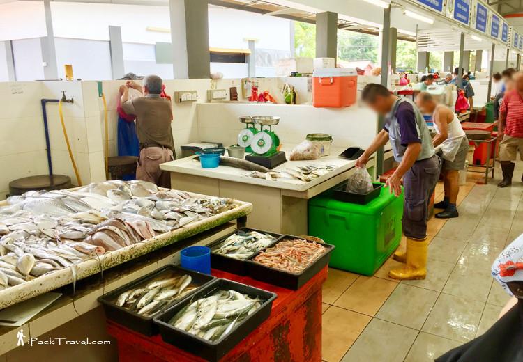 Pontian fish market