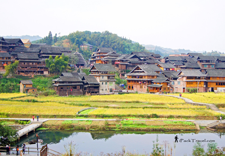 Scenery outside Ma'an Village
