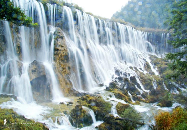 Nuorilang Waterfall, Jiuzhaigou Valley