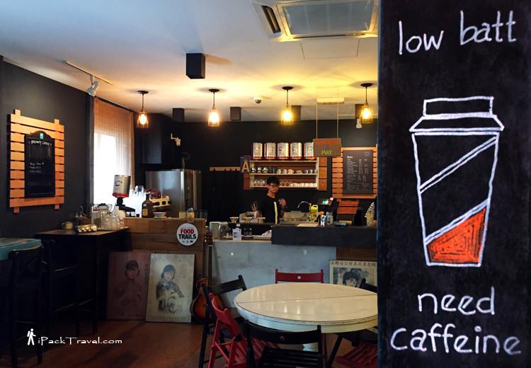 Interior of Coffee Amos
