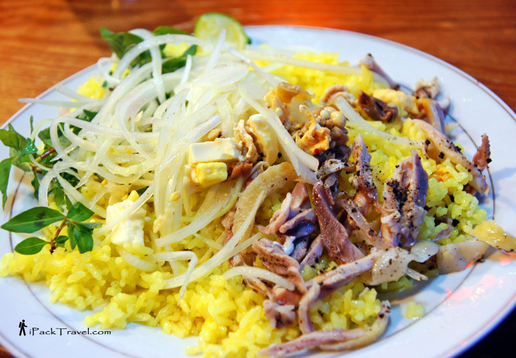Cơm Gà, Fried Rice with Chicken