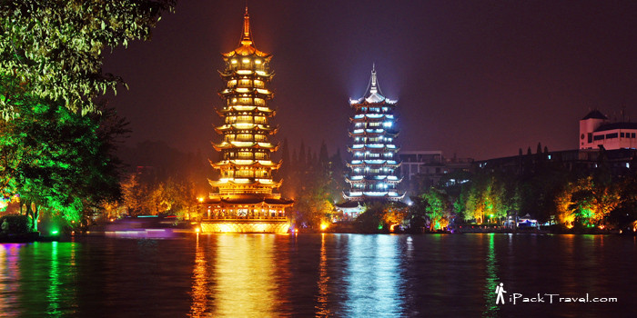 Scenic sights in Guilin City