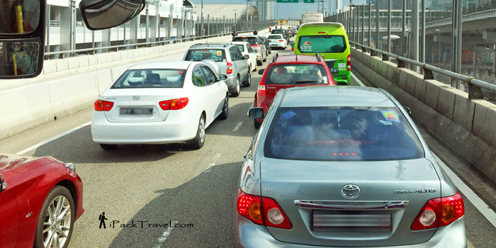 Woodlands Checkpoint Traffic