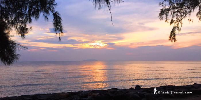Sunset at Pontian kechil