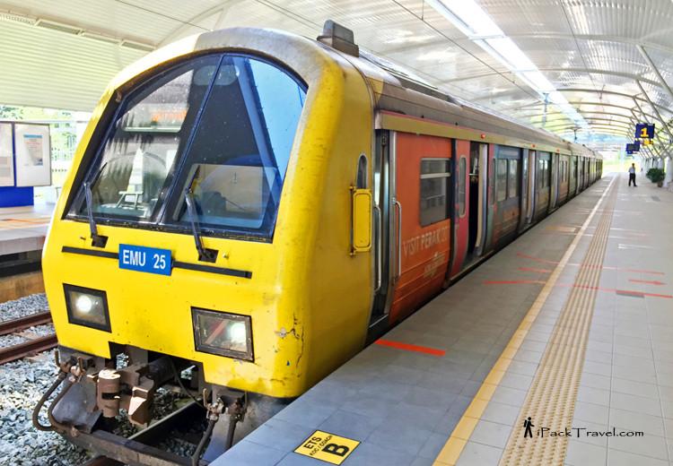 Malaysia old train