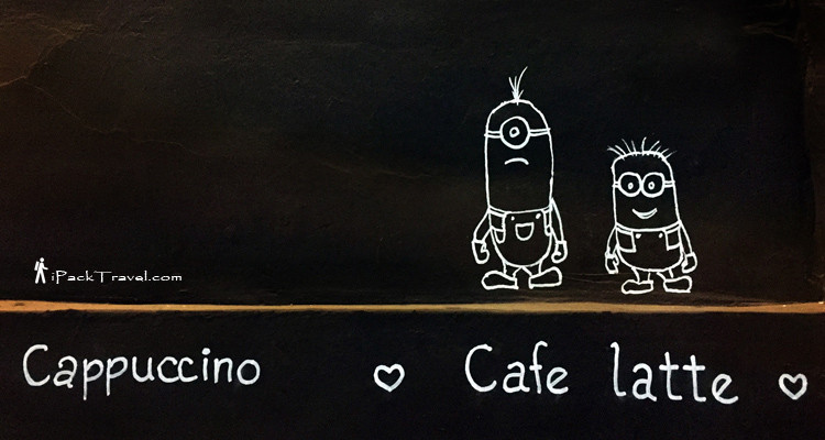 Drawings of 2 minions