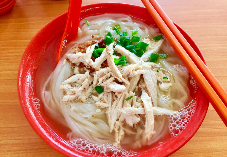 Shredded Chicken noodle