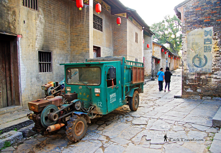 Street view of Huangyao Ancient Town