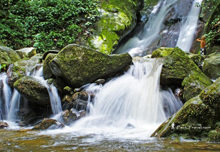 Kinabalu Park Poring Waterfall