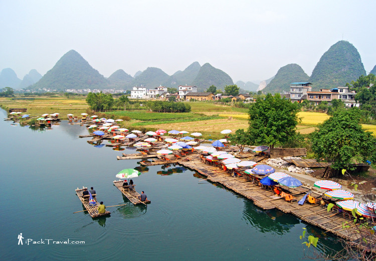 Scenery of Yulong River (遇龙河风景)