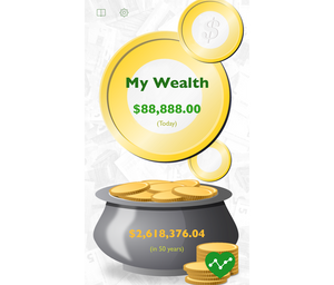 MyWealth computes your total wealth