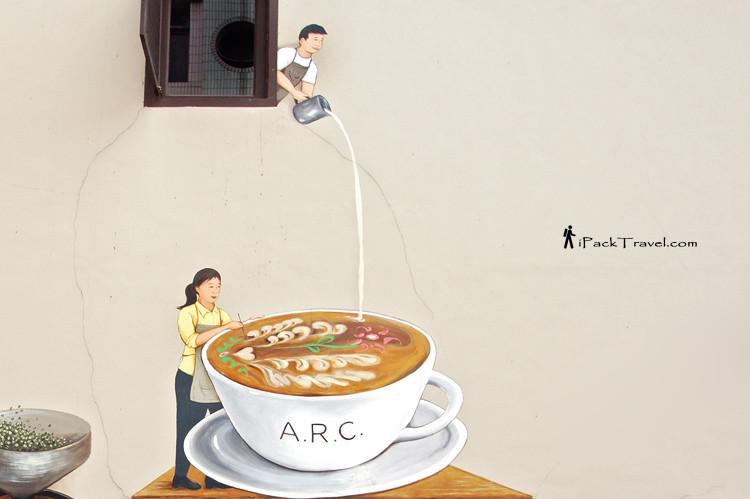 Western Coffee art