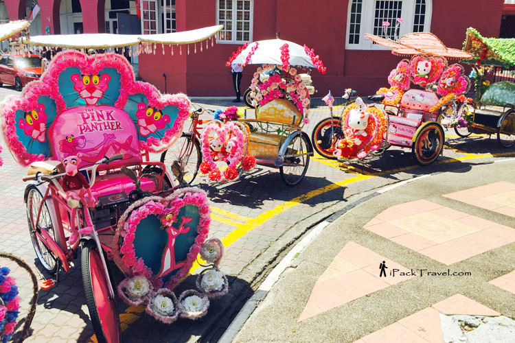 Rickshaw at Malacca Dutch Square