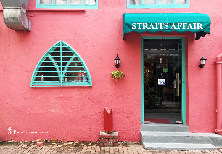 Straits Affair Cafe, Malacca