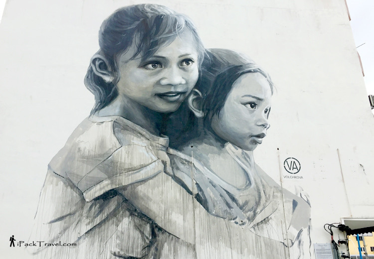 """Loving Sisters"" close up"