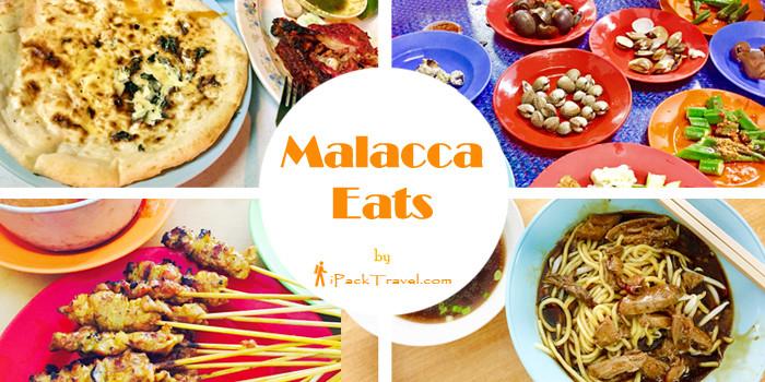 Malacca Eats outside Old Town