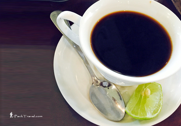 Coffee with Lime Juice