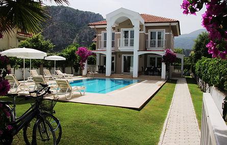 Dalyan villa amazon